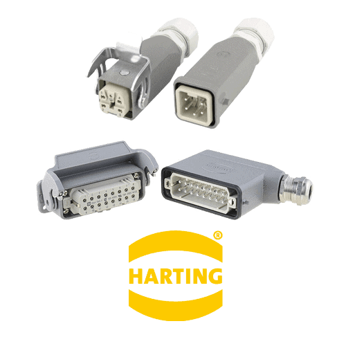 Harting Han kits konektori