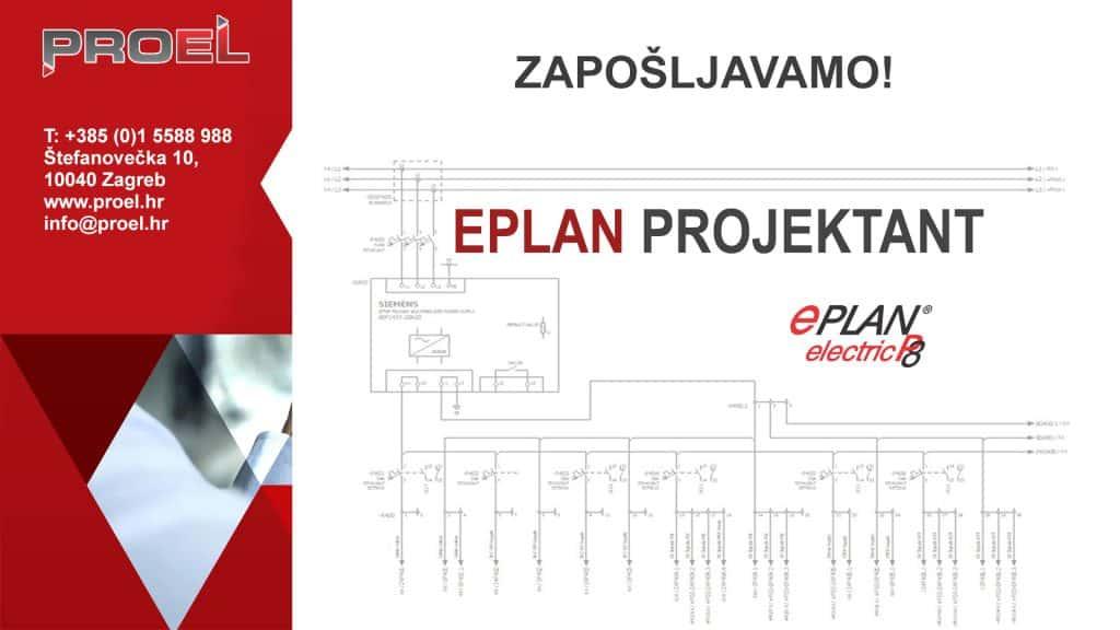 Otvoreno radno mjesto – EPLAN projektant/ica