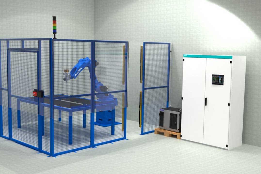 Robotska Stanica Rezanje Ormara