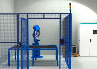 Robot station for Cabinet Milling