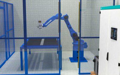 Robotska stanica za glodanje Elektro ormara