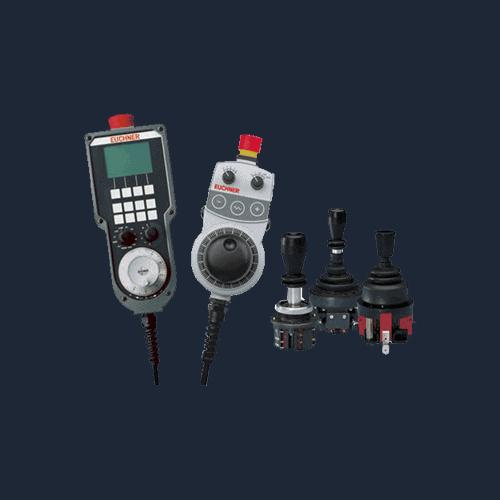 Euchner joystick, Upravljačke jedinice strojeva