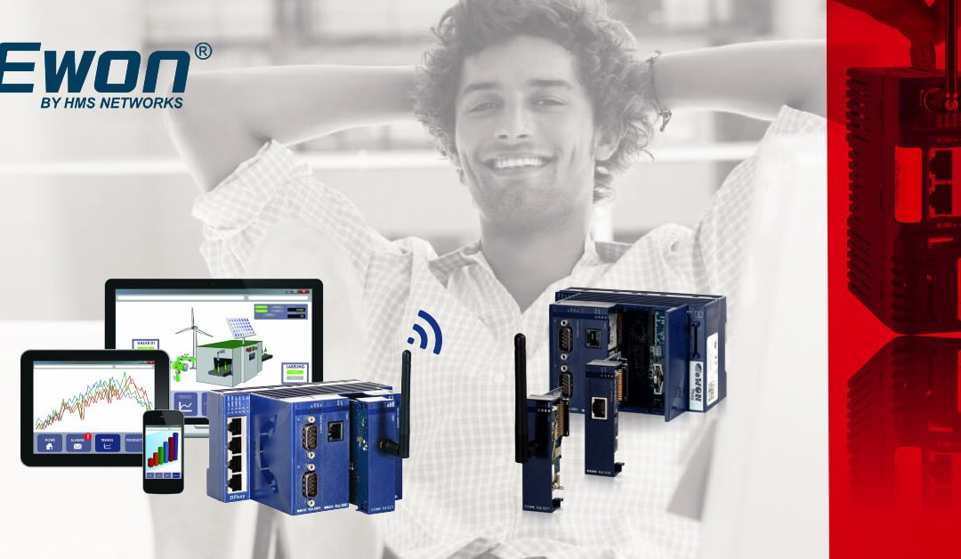 Uz eWON Cosy 131 obavi servis i nadogradi sustav iz ureda