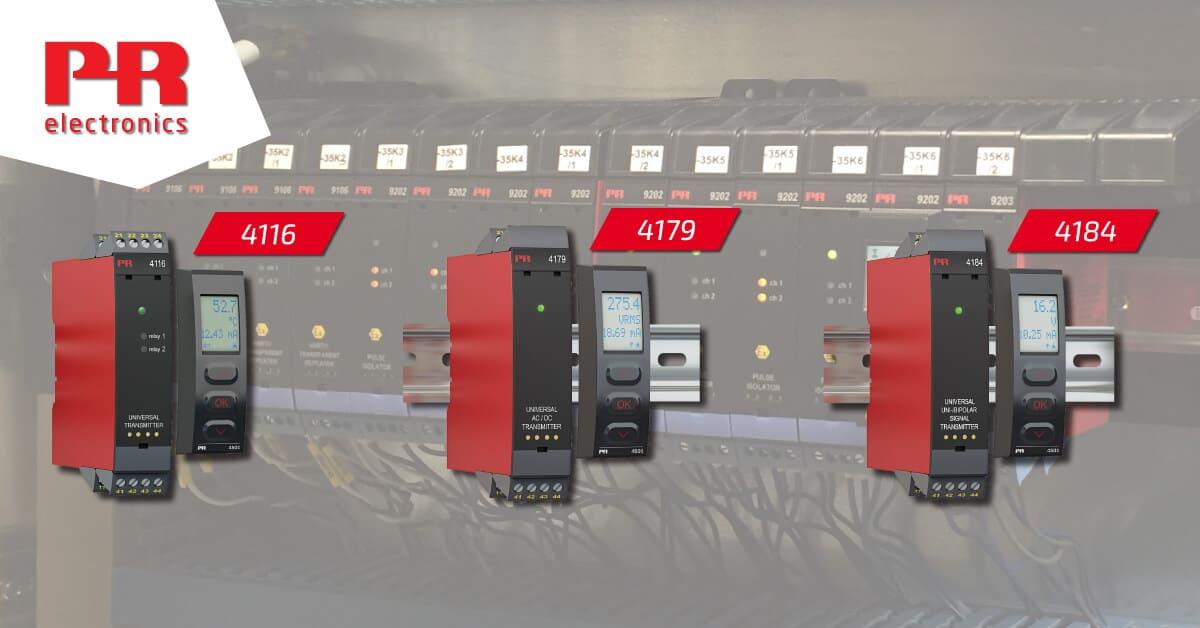 PR Electronics moduli 4116 4179 4184