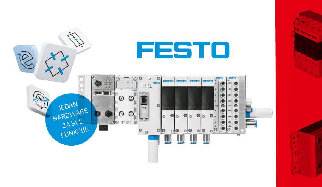 Festo Motion Terminal VTEM – ventilski blok s upravljanjem putem aplikacije